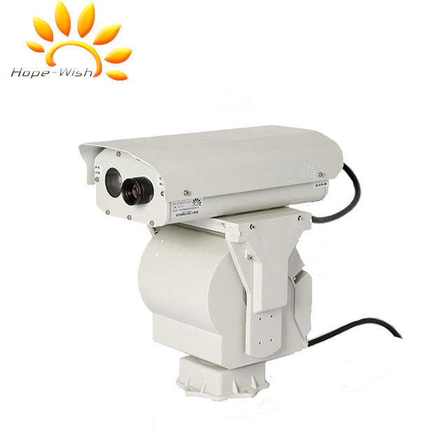 Infrared IP66 Thermal Imaging Camera , PTZ Alarm System Cctv Security Cameras
