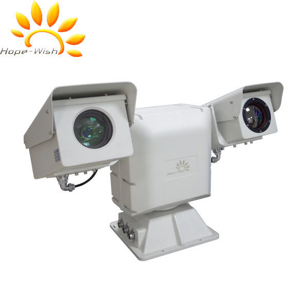 Vehicle Vision Dual Thermal Camera , Uncooled  Long Range PTZ Camera